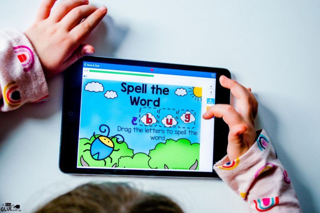 Word building with the cvc word bug
