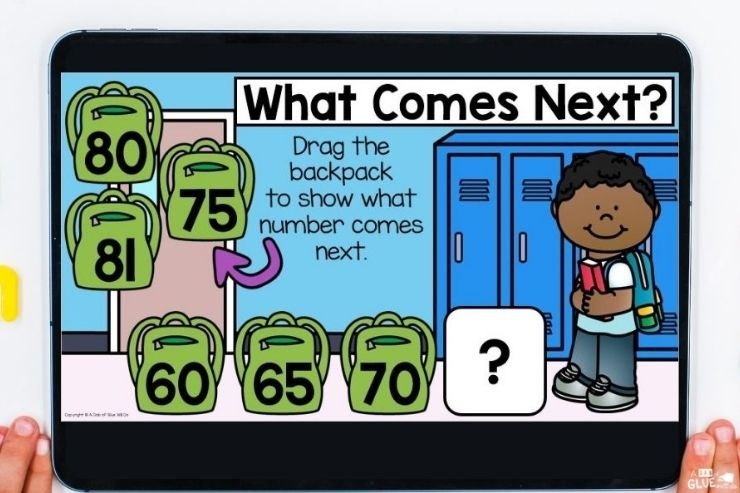Skipping counting and learning to count in first grade