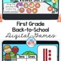 First Grade Back-to-school Digital Games and Activities that are perfect for our little learners to get back into the swing of school.