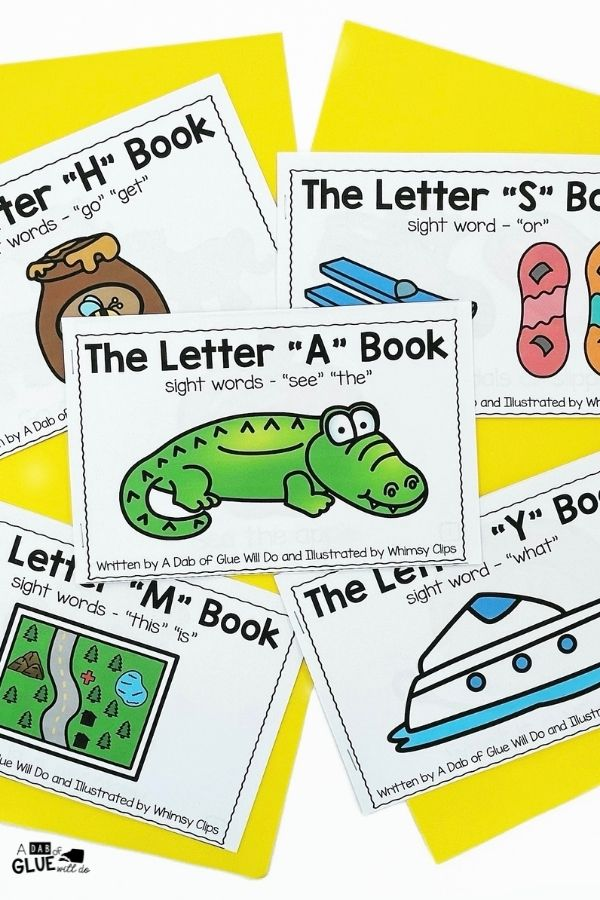 Alphabet Emergent Readers and Activities for our youngest learners. Perfect bundle for prek and kindergarten students.