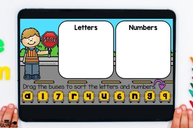 PreK Back-to-school Digital Games and Activities for our littlest learners. Kids enjoy working on these activities in a digital format.