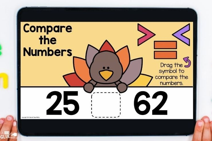 November Digital Games and Activities for First Grade Learners. Perfect fall and Thanksgiving themed games for elementary students.