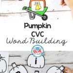 Pumpkin CVC Word Building Activity is perfect for teaching word building. Use this fall theme game to build students phonetic awareness.